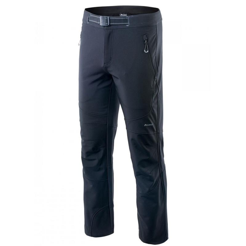 Spodnie męskie softshel ELBRUS LELAND czarne XL