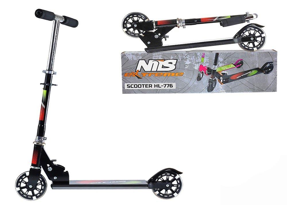 Nils Extreme Scooter Roller Tretroller Cityroller Kickboard Kinderroller # Kinder klappbar LEDs Rollen HL-776