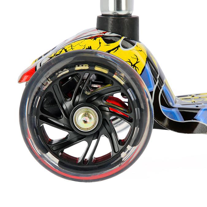 Scooter Roller Tretroller Cityroller Kickboard Kinderroller klappbar LED HLB06P